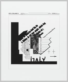 Print, 1974: Collage 5