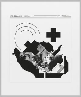 Print, 1975: Collage 9