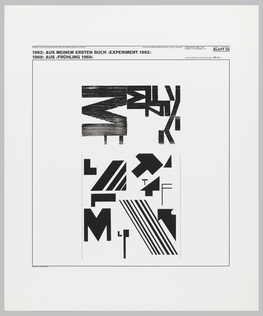 Poster features varied typographic patterns.