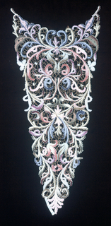 Collar, Cuffs, And Vestee (Italy)