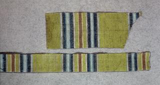 simple weave wool: stripes,