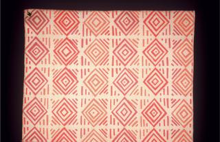 Samples of furnishing fabric.