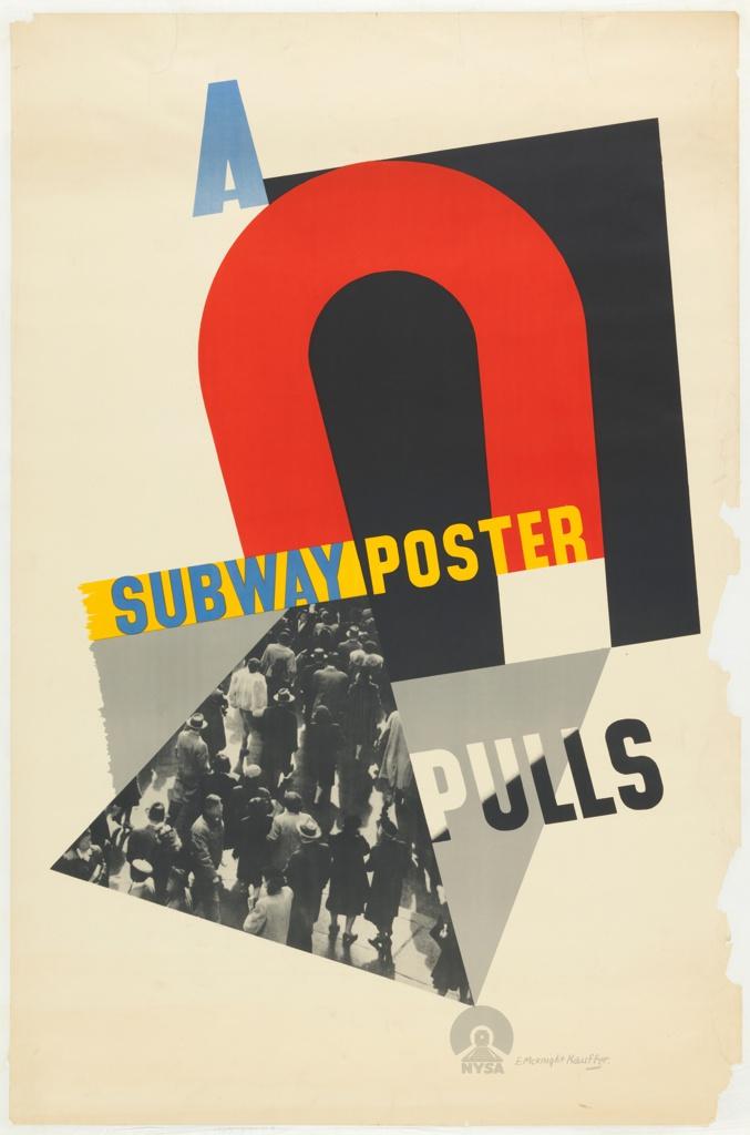 Poster, A Subway Poster Pulls