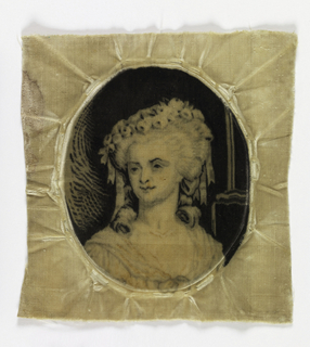 Portrait of Princess de Lamballe in a Gregoire velvet.