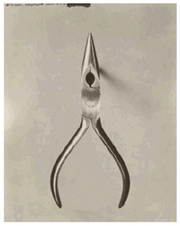 Photograph, Stahls Chain-nose Pliers (Over Actual Size), from Eskilstuna, Sweden, $2.49