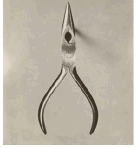 Photograph, Stahls Chain-nose Pliers (Over Actual Size), from Eskilstuna, Sweden, $2.49, 1955