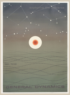Poster, General Dynamics