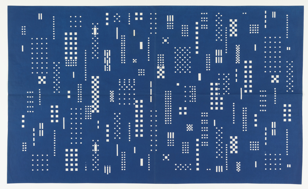 Blueprint textile design manhattan nos 490 494 1958 objects loading full size image malvernweather Gallery