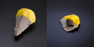 Handaxe #5 And Blade #9, BC–AD Contemporary Flint Tool Design Series