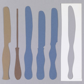 Cut-out, Cut-out Design for Knife