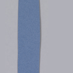 Knife cut out of blue construction paper; verso has graphite outline.
