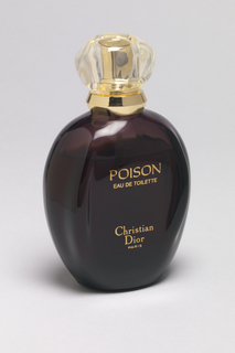 Poison Perfume Bottle And Cap, 1985