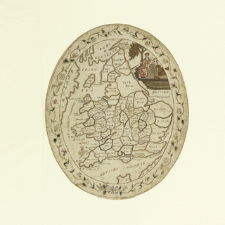 Map Sampler, A Map of England and Wales