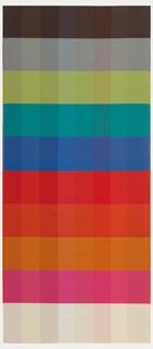 Color Blanket, Weaving Palettes, 2013