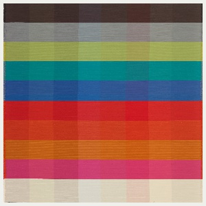 Color Blanket, Weaving Palettes