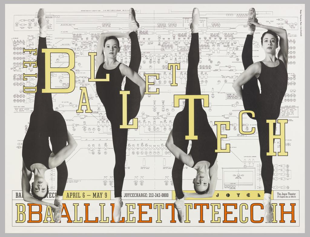 Poster, 1999 Season, Ballet Tech