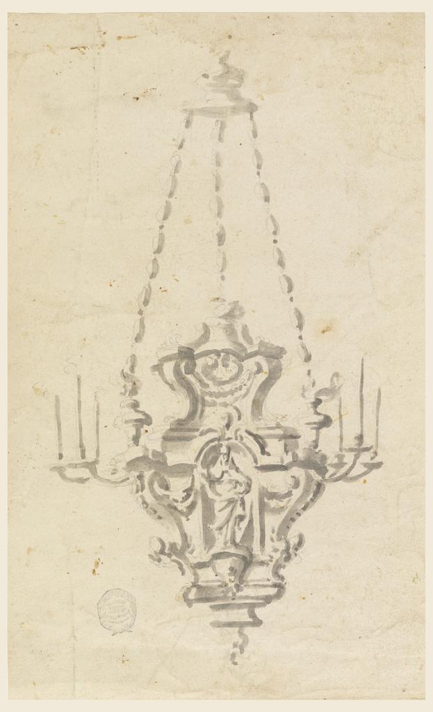 Study of chandelier.