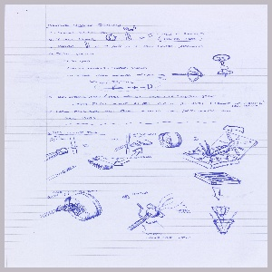 Drawing, Preparatory Drawing for Nest Thermostat, October 28, 2011