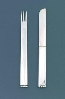 Flaches Modell (Flat Model) Dessert Fork