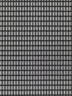 Translucent stretch mesh fabric with a small-scale check of silver and black. Color: Alloy.