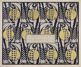 Print, Wandbehang Die Reifezeit (Harvest Time Wall Hanging), plate 7, in Die Quelle: Flächen Schmuck (The Source: Ornament for Flat Surfaces)