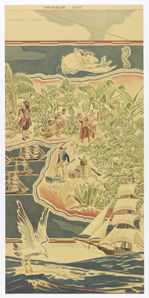 Mural, Smuggler's Cove