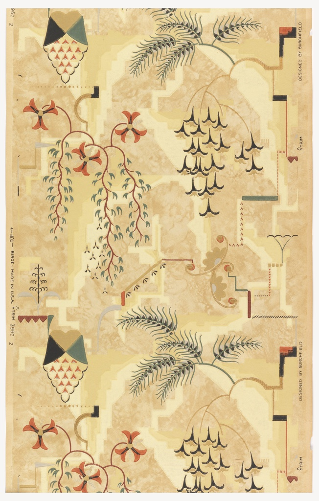 Modern Wallpaper Designs For Walls: Charles Burchfield's Modern Wallpaper