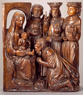 Adoration of the Magi Figural Group