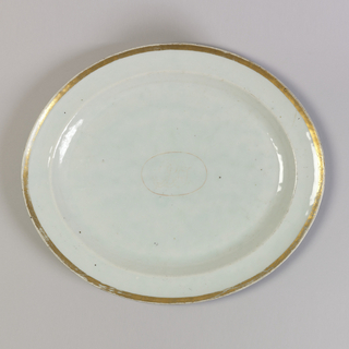 Platter (China), late 18th–early 19th century