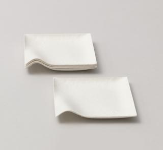 Kaku square plate, small Plate, 2008