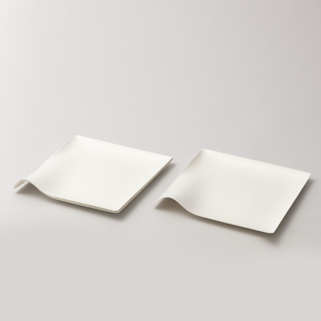 Kaku square plate, large Plate