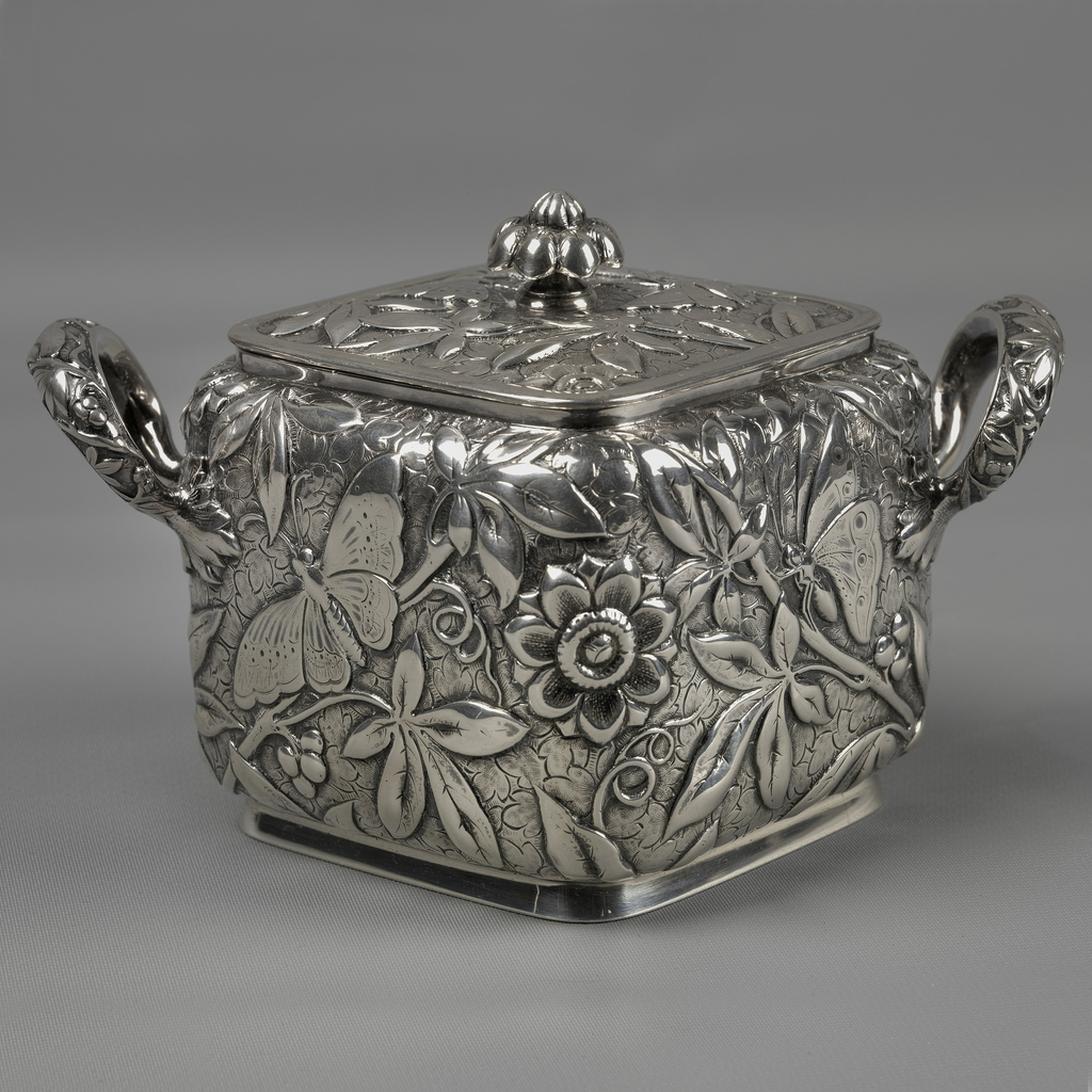 Sugar Bowl And Lid, 1888