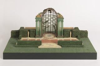 Garden of the Childs Frick Estate, Rosalyn, New York Architectural Model