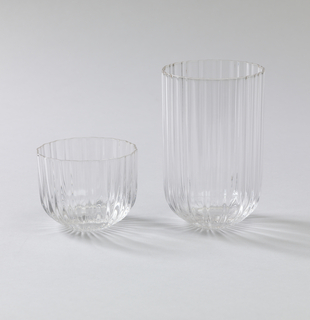 Tumbler; Ribbed surface