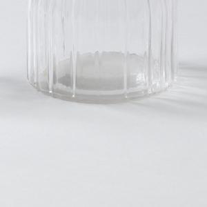 Small carafe; Ribbed surface