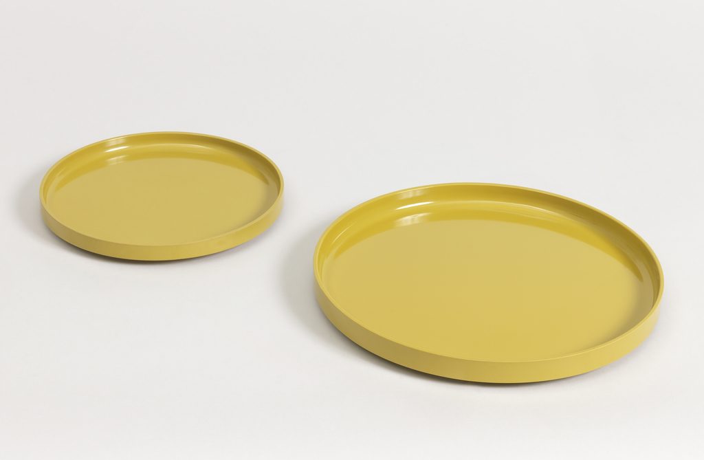 Compact Stacking Dinnerware Plate, 1964