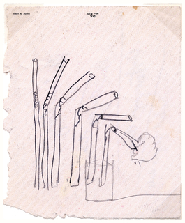 Sketch For Flexible Straw (USA), 1930s