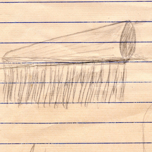 Sketch For Handle-less Toothbrush (USA), September 7, 1942