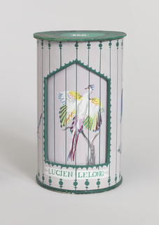 "Prototype for perfume bottle package ""Bird Cage."""