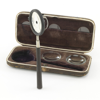 Ophthalmoscope And Case (Germany), 1860
