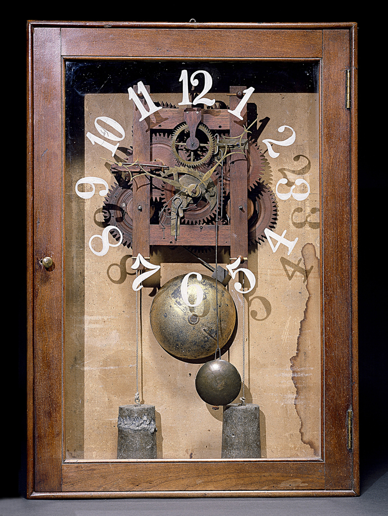Box Clock (USA), ca. 1816