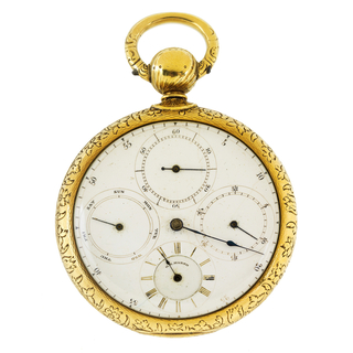Prototype For Pocket Watch (USA), ca. 1850
