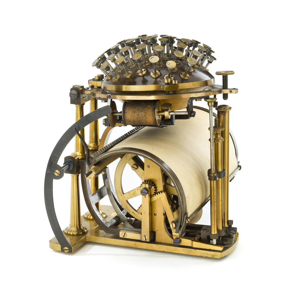 Hansen Writing Ball (Commercial) (Denmark), 1878