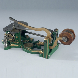 Patent Model For A Sewing Machine, Patent No. 9,041 (Watertown, Connecticut, USA), June 15, 1852