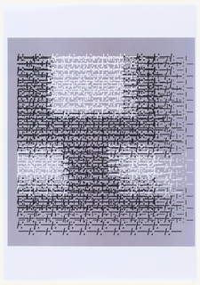 """Print, Design for Letter """"Y"""" with Layers of Punctuation Matrix, for """"Vivo in Typo"""" Poster"""