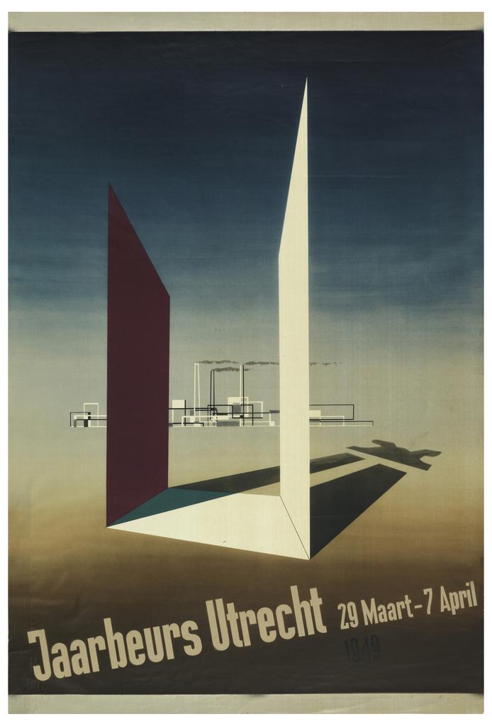 Poster, Jaarbeurs Utracht, 1949