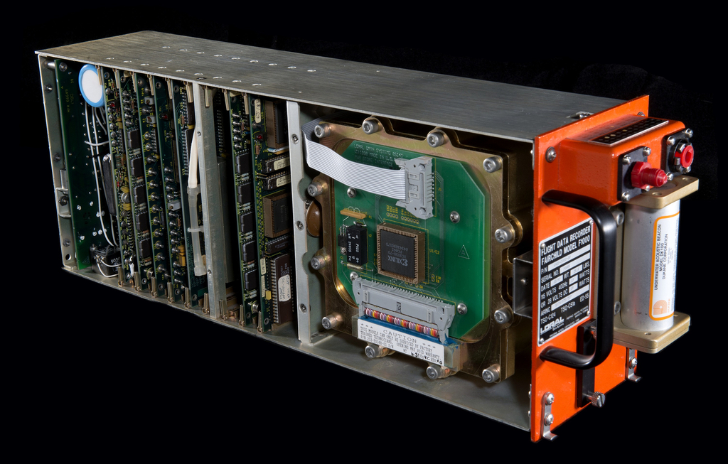 "Flight Data Recorder F1000 (""Black Box"") (USA), 1995"