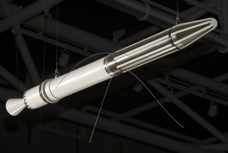 Satellite, Explorer 1 (Replica), 1958, Original launch date February 1958