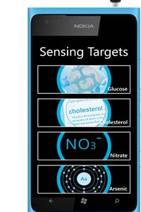 Mobosens, Smartphone Liquid Sensor (Prototype), 2011