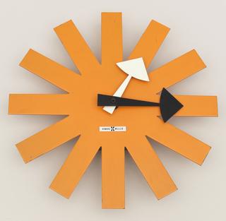 Asterisk Wall Clock, Model 2213 Clock